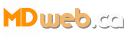MDWEB AGENCE MARKETING DIGITAL Logo